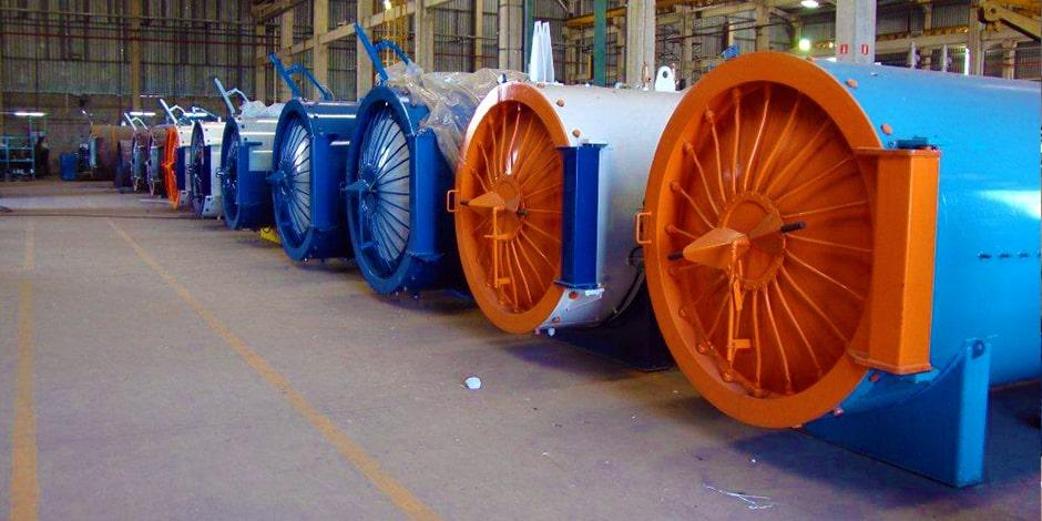 Autoclaves para pneus